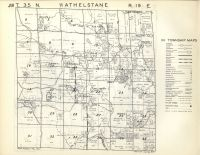 Athelstane T35N-R19E, Marinette County 1954
